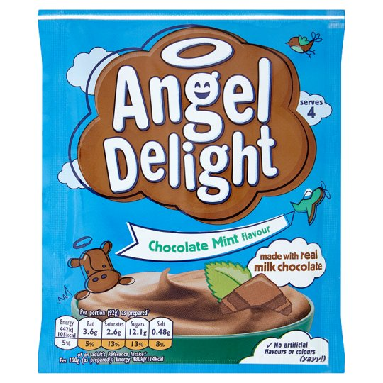 Angel Delight Chocolate Mint Flavour 59G
