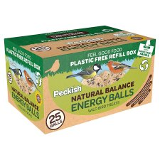 Peckish Natural Balance Energy Balls 25 Pack