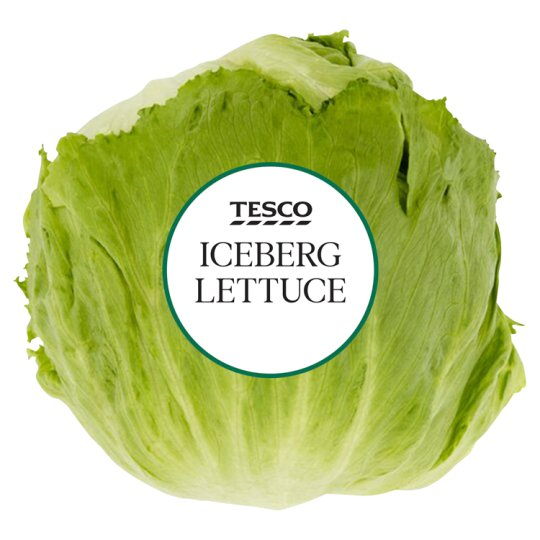 image 1 of Tesco Iceberg Lettuce Each