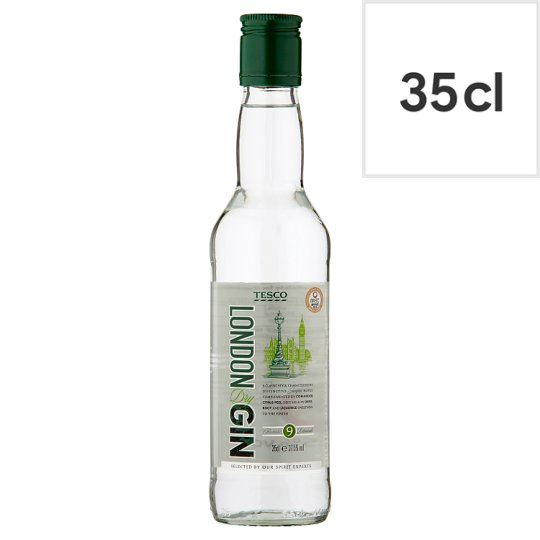 Tesco Dry London Gin 35Cl