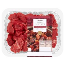 Tesco Diced Beef 400G