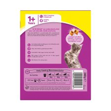 image 3 of Whiskas 1+ Chicken Dry Cat Food 340G