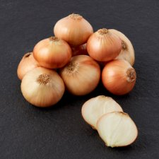 Tesco Organic Brown Onions 750G
