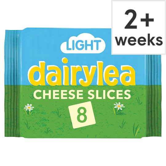 Dairylea Light Cheese Slices 8 Pack