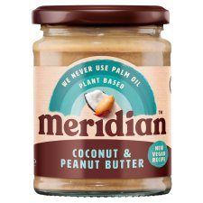 Meridian Coconut And Peanut Butter Smooth