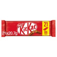 Kit Kat 2 Finger Milk Chocolate Biscuit 21 Pack 434.7G