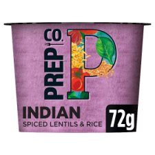 Prepco Indian Red Lentils And Rice 72G