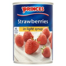 Princes Strawberries Light Syrup 420G