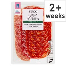 Tesco Italian Salami Selection Platter 120G