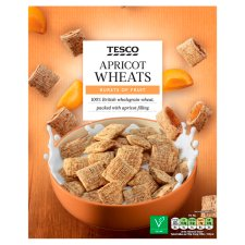 Tesco Apricot Wheats Cereal 500G