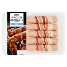 Tesco Pigs In Blankets Kebab 460G