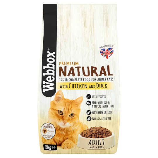 Webbox Natural Chicken And Duck Cat Food 2Kg