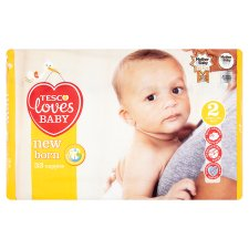 Tesco Loves Baby Newborn Size 2 Carry Pack 33