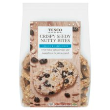 Tesco Crispy Seedy Nutty Bites 200G