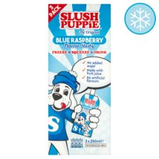 Slush Puppie Blue Raspberry 3X250ml