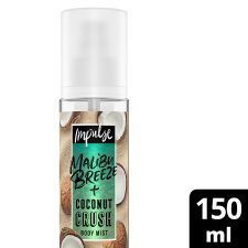 Impulse Malibu Breeze Plus Coconut Body Mist 150Ml