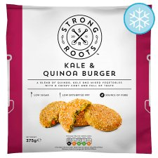 Strong Roots Kale & Quinoa Burger 375G