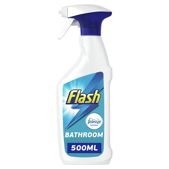 Flash Bathroom Cleaning Spray 48Ml Tesco Groceries Stunning Best Bathroom Cleaning Products