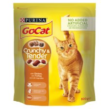 image 1 of Go Cat Crunchy And Tender Chicken Turkey 800G