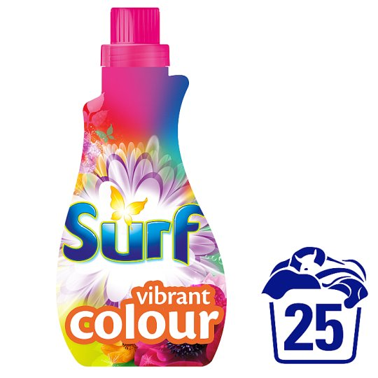 Surf Vibrant Colour Washing Liquid 25 Wash 875Ml