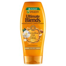 Garnier Ultimate Blends Argan Oil Shiny Hair Conditioner 360Ml