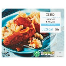 Tesco Sausage And Mash 400G