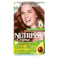 Garnier Nutrisse 6.23 Rose Gold Brown Permanent Hair Dye