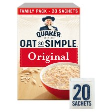 Quaker Oat So Simple Original Porridge Sachet 20X27g