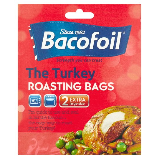 Bacofoil Turkey Roasting Bags X