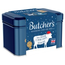 Butcher's Christmas Dog Food Gift Tin 1.1Kg