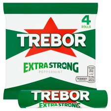 image 2 of Trebor Extra Strong Peppermint 4 Pack 166G