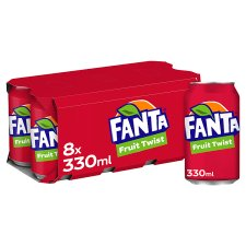 Fanta Fruit Twist 8X330ml
