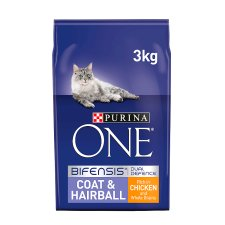 Purina One Coat And Hairball Chicken 3Kg