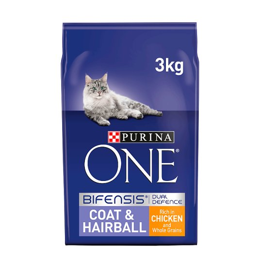 image 1 of Purina One Coat And Hairball Chicken 3Kg