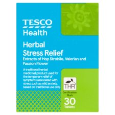Tesco Stress Relief 30S