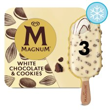Magnum White Chocolate And Cookies Ice Cream 3 X 90Ml