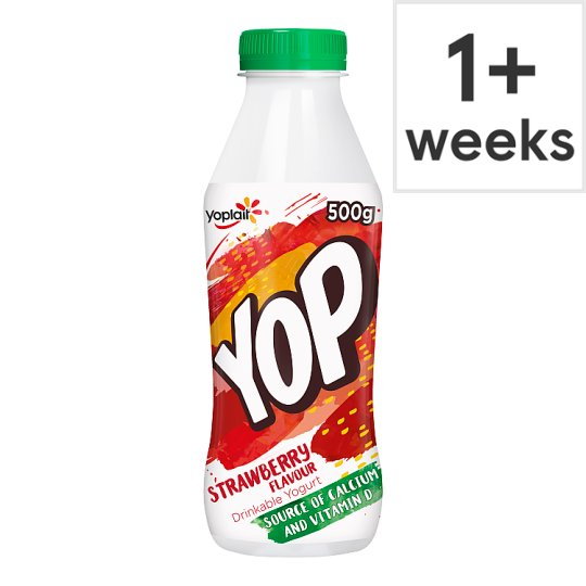 Yop Strawberry Yoghurt Drink 500G