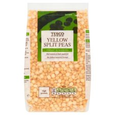 Tesco Yellow Split Peas 500G