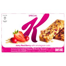 Special K Juicy Red Berry Bars 5X27g