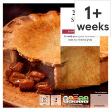 Tesco Steak Shortcrust Pie 500G