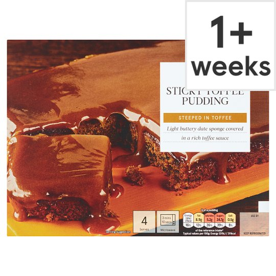 Tesco Sticky Toffee Pudding 400G