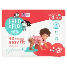 Fred & Flo Easy Fit Pants Size 4 Plus 40 Pack