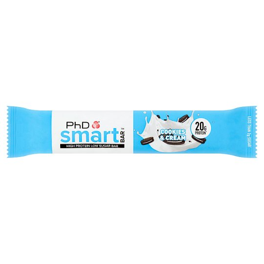 Phd Smart Bar Cookies And Cream 64G