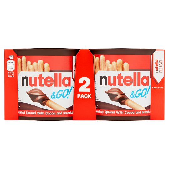 Nutella And Go Multipack 2 X48g