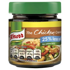 Knorr Chicken Reduced Salt Stock Granules 120G