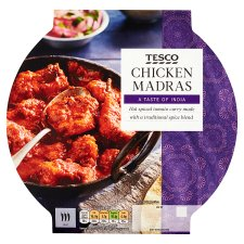 Tesco Indian Chicken Madras 460G