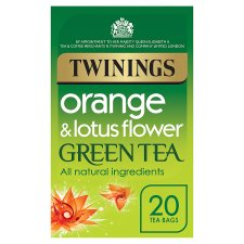 Twinings Green Tea Orange 20 Tea Bags 40G