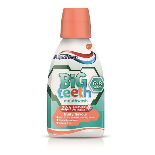 Aquafresh Kids Big Teeth Mouthwash 300Ml
