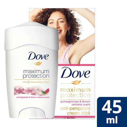 Dove Maximum Protection Go Fresh Pomegranate Cream Antiperspirant Deodorant 45Ml