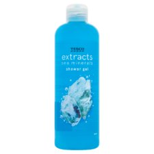 Tesco Extracts Sea Minerals Shower Gel 500Ml